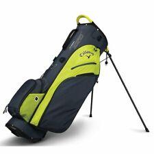 Callaway Fusion Zero Titanium Black Neon Yellow Stand Golf Bag
