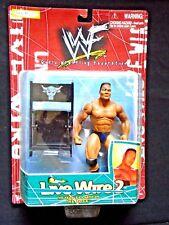 The Rock WWF Livewire 2 Jakks Action Figure K Mart Exclusive WWE Dwayne Johnson
