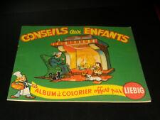 Liebig - Album a Colorare - Consigli a Bambini - Anni 1930/40 - Vergine