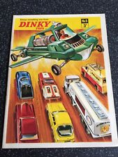 Dinky Toys Catalogue Full Colour 1969 No.5, Totally Superb condition! UK EDITION