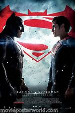 BATMAN V SUPERMAN DAWN OF JUSTICE FINAL ORIGINAL MOVIE POSTER DS CREDITS MoPoWo