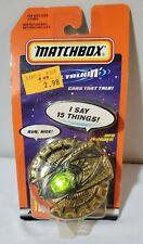 Talking & Lighting Matchbox Spacecraft Flying Saucer UFO Invader Green NEW MOC