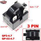 QP2-4.7 Start Relay Refrigerator PTC FOR 4.7 Ohm 3 Pin Vissani Danby Compressor photo