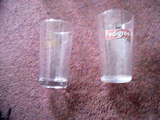 TWO MARSTONS PINT GLASSES ONE PEDIGREE + MAKE MINE A MARSTONS