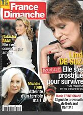 FRANCE DIMANCHE N° 3605--LINDA DE SUZA/MARIE TRINTIGNANT/MICHELE TORR/AMAL