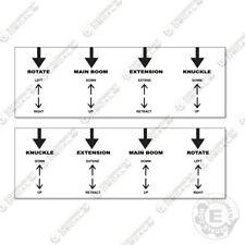 Hiab Knuckleboom Crane Lever Decal Kit Set Of 2