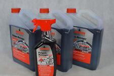 Set Nigrin® Performance Felgenreiniger EvoTec 1X750ml +3X3Liter Alufelge Felge