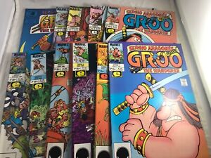 GROO #1-8 10 11 MARVEL EPIC 1985 ECLIPSE SPECIAL 1984 ALL NM SERGIO ARAGONES