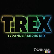 Five Classic Albums Slipcase By T. Rex