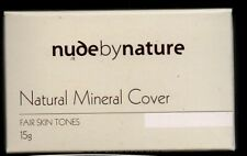 NUDE BY NATURE Mineral Cover 15 g Fair Skin Tones Brand New