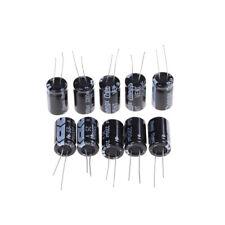 10Pcs 2200uF 25V Radial Lead Aluminum Electrolytic Capacitors 13X21mm TB