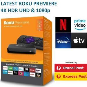 2020 ROKU Premiere 4K Ultra HD HDR Streaming for Netflix Plex Amazon Prime Video