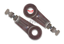 PAIR of Yamaha TZR125 RD250 RD350 LC Chain Tensioner Adjuster Wheel Pulls 17mm