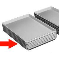 "Display Tray Plastic 12"" x 18"" x 1,"" White"