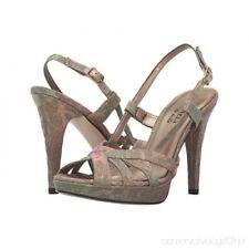 Veneli Quentin Gold Lotti Platform Evening Shoes/Sandals Size 8.5 $160