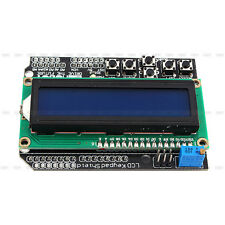 Arduino R3 Robot 1602 LCD Blau Board Backlight Display Tastatur Schild Modul