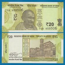 India 20 Rupees P New 2019 UNC Low Shipping! Combine FREE!  - Gandhi