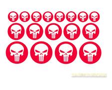 Punisher pegatinas 17 trozo punischer calavera Skull cráneo sticker hardcore X