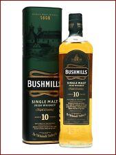 1 b. da 1 Litro BUSHMILLS 10 y single malt irish whiskey triple distilled whisky