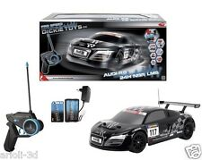 AUDI R8 LE MANS 24H NBR LMS 12.5mph DICKIE TOYS - RC RADIO CONTROL WIRELESS NEW