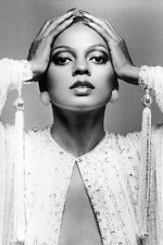 DIANA ROSS 24X36 POSTER HAIR SLICKED BACK ICONIC IMAGE