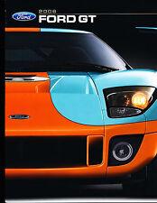 2006 Ford GT GT40 Original Official Race Car Sales Brochure - Gulf Blue 1966