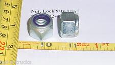 6 X Self Locking Hex Nut 9/16 w/ rubber shock absorb MS51922-41 Military Surplus