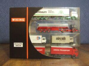 Wiking Werbe-Modelle 1983/84