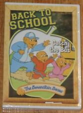 The Berenstain Bears Back To School Catch The Bus DVD.  Brand New!!