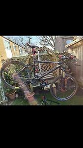 "Boardman FS Rock Shox Reba mountain bike 26"" full suspension + FREE UK 🇬🇧 POST"