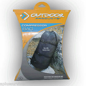 """24"""" Compressor Bag for Sleeping Bags Clothes Gear Camping Hunting Survival Kit"""