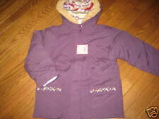 NWT Gymboree  Purple Autumn Highlands 4 in 1 Jacket Coat Girl 5