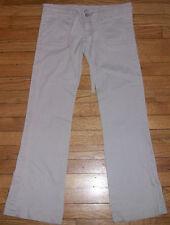 520p NWOT $90+ Ivory Sz 4? 32x29 INDIGO ROYALTY Stylish Casual Pants!
