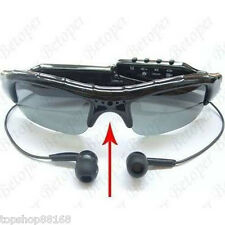 8GB New Digital Spy Sun Glasses HD DVR Camera Audio Video Recorder MP3 Player