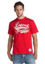 Homeboy Herren T-Shirt * Shirt in rot * mit Print / Motiv * Größe S * NEU