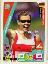 Adrenalyn XL London 2012 - #288 Nicole Reinhardt - International Ace Germany