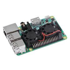 Ultimate Cooling Fan Kit Dual Fans + Heatsinks For Raspberry Pi 3/2/B+