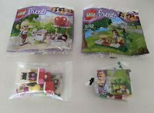 Lego Friends Bundle - 30108 (Mia Summer Picnic)  & 30105 (Stephanie Mailbox)