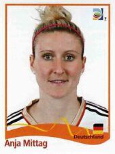 Panini FIFA World Cup 2011 Germany Women Sticker #41 Anja Mittag Germany