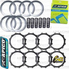 Apico Clutch Kit Steel Friction Plates & Springs For Yamaha YZ 450F 2009 MotoX
