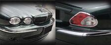 Jaguar X-Type Headlight &Tail Light Chrome Trim set 2002 2003 2004 2005 2006