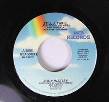 Pop 45 Jody Watley - Still A Thrill / Looking For A New Love On Mca Records