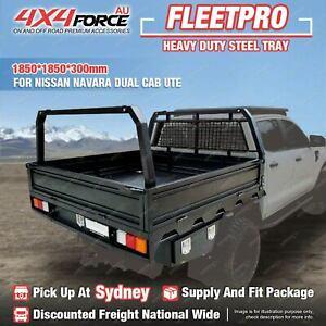 Heavy Duty Steel Tray 1850x1850x300mm for Nissan Navara Dual Cab Ute SYD Stock