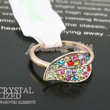 Anello Donna Cristallo Swarovski elements multicolore N80