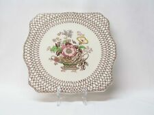 Myott & Son Staffordshire Bonnie Dundee Serving Plate Platter with Display Stand