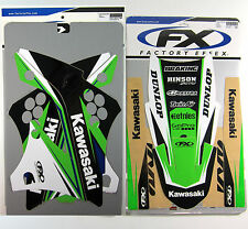 Factory Effex EVO 14 Graphics Fenders Trim KXF 450 KX450F KXF450 09 10 11 NEW