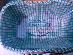 Longaberger Homestead Woven Memories Basket