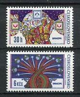 33225) Czechoslovakia 1974 MNH Brno Stamp Exhib. 2v