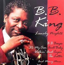 B.B. King CD Lonely Nights - Europe (EX/EX)