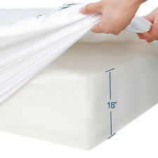 Mattress Pad Thick Quilted Topper Cover with Deep Pocket Twin/Full/Queen/King